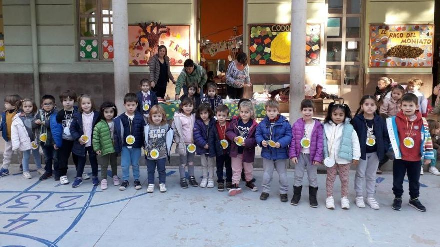 La tardor, sempre festa al CEIP Cervantes de València