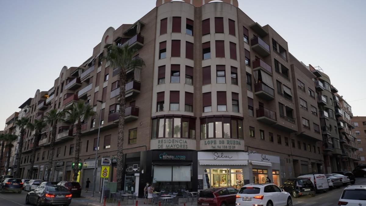 Residencia Lope de Rueda, en Torrent