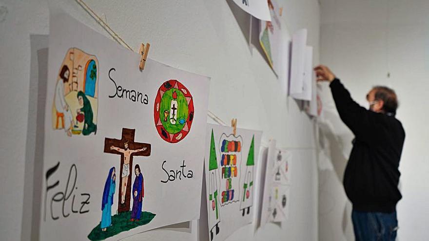 Luz Penitente abre su exposición de dibujos infantiles de Semana Santa de Zamora