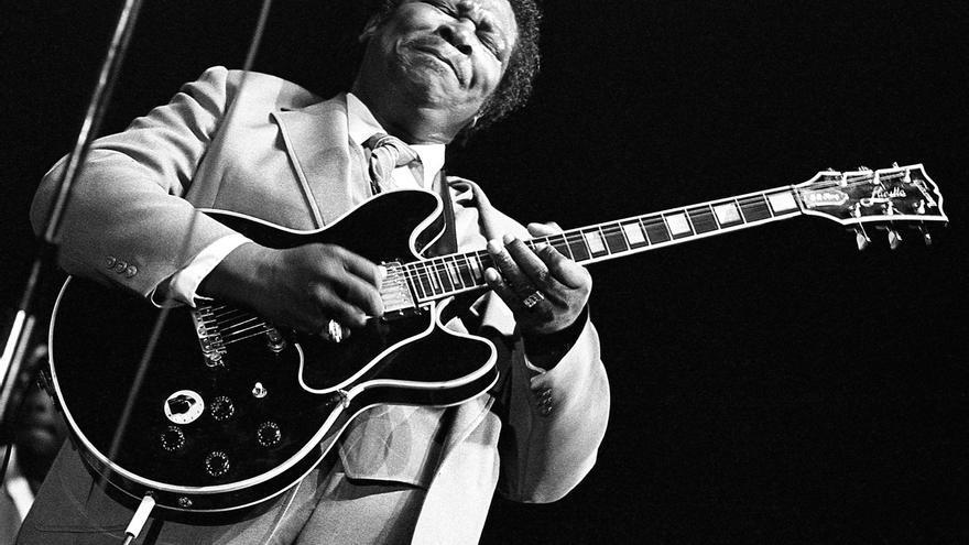 'Memorables del jazz' en blanco y negro