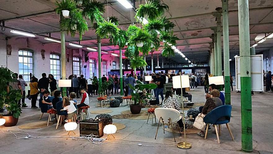 Prop de 150 persones visiten l'interior de l'antiga fàbrica Cal Berenguer de Cabrianes