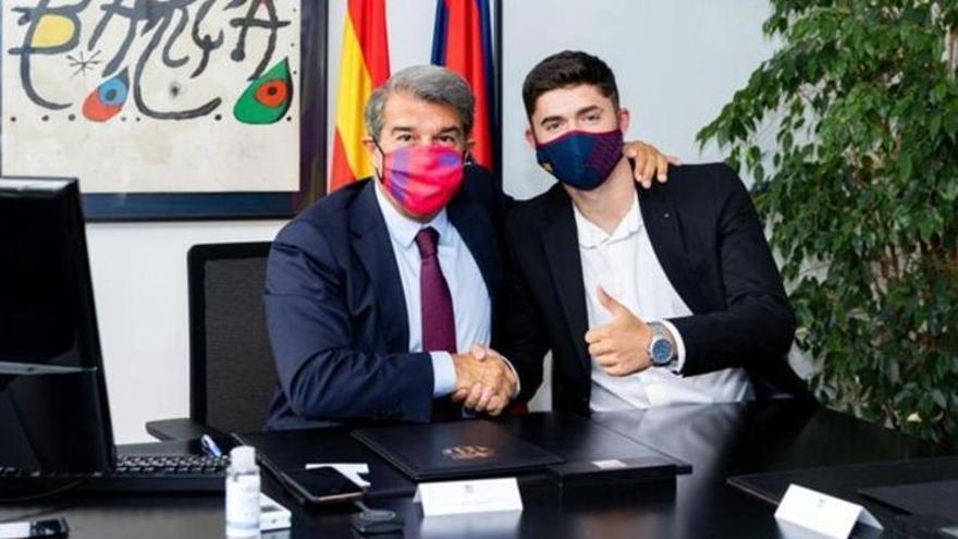 El Barça ficha a Jordi Escobar