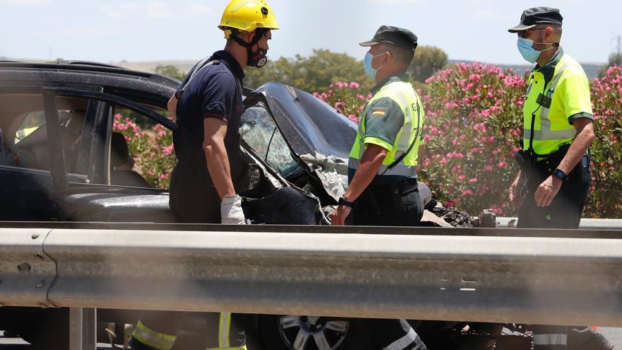 El 2021 se ha cobrado ya 10 fallecidos más que el año pasado en las carreteras cordobesas