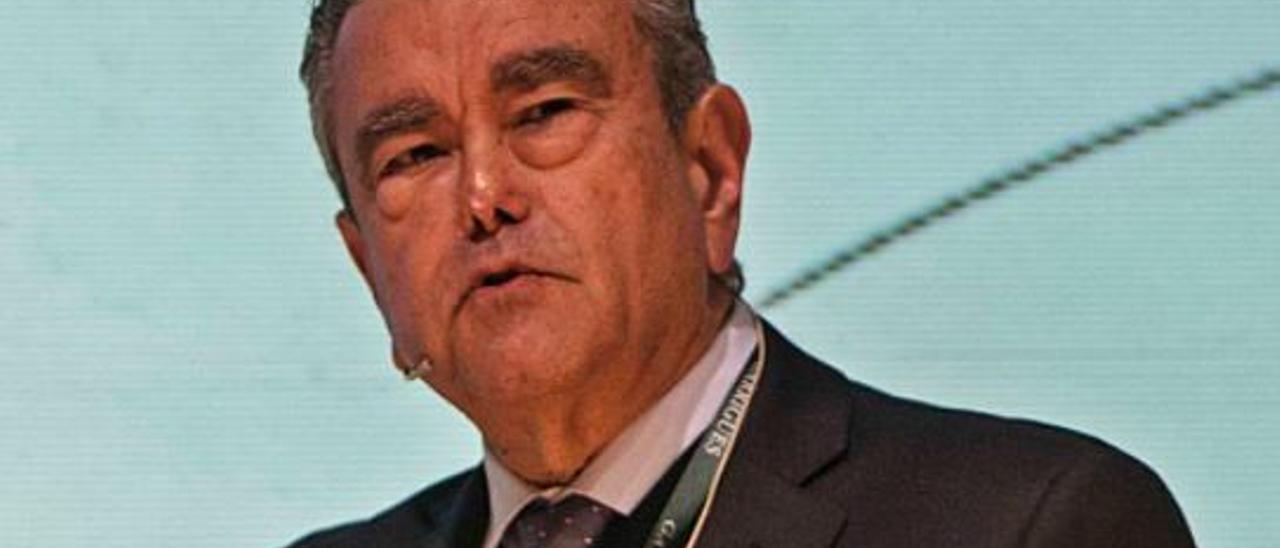Andrés Pedreño es el portavoz de la plataforma.