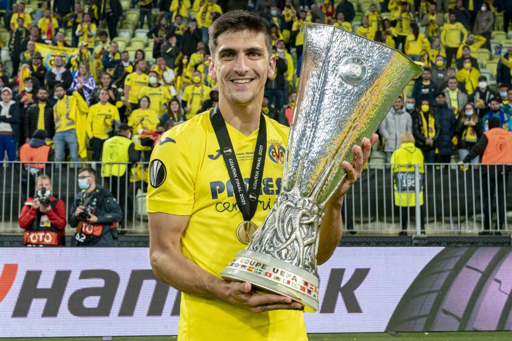 Así se vivió desde dentro la fiesta del Villarreal por ganar la Europa League