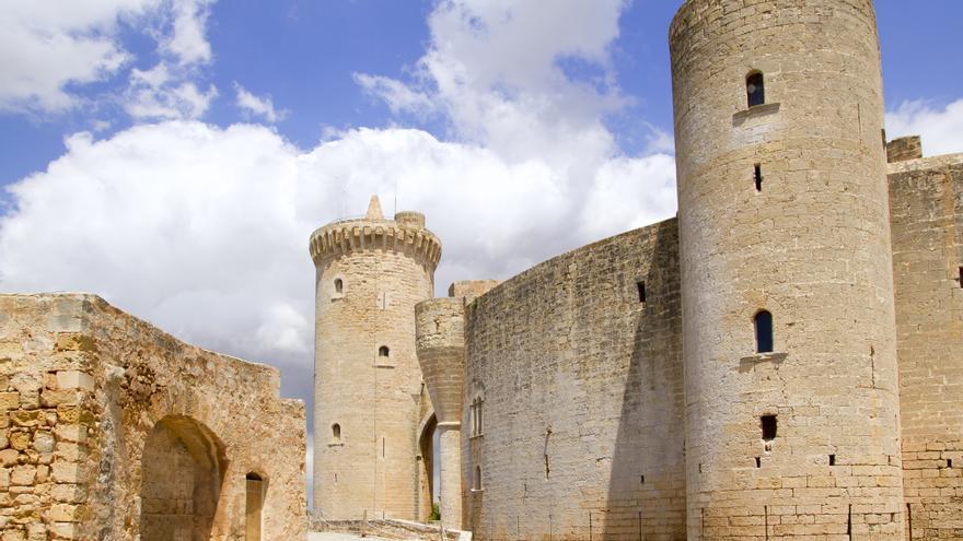 El castillo de Bellver, elegido una de las veinte fortalezas más deslumbrantes de Europa