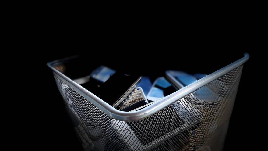 Campanya pilot de reutilització de telèfons mòbils