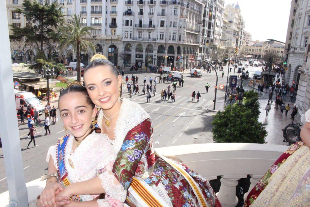 Blanca Chaparro y Anna Duggan.