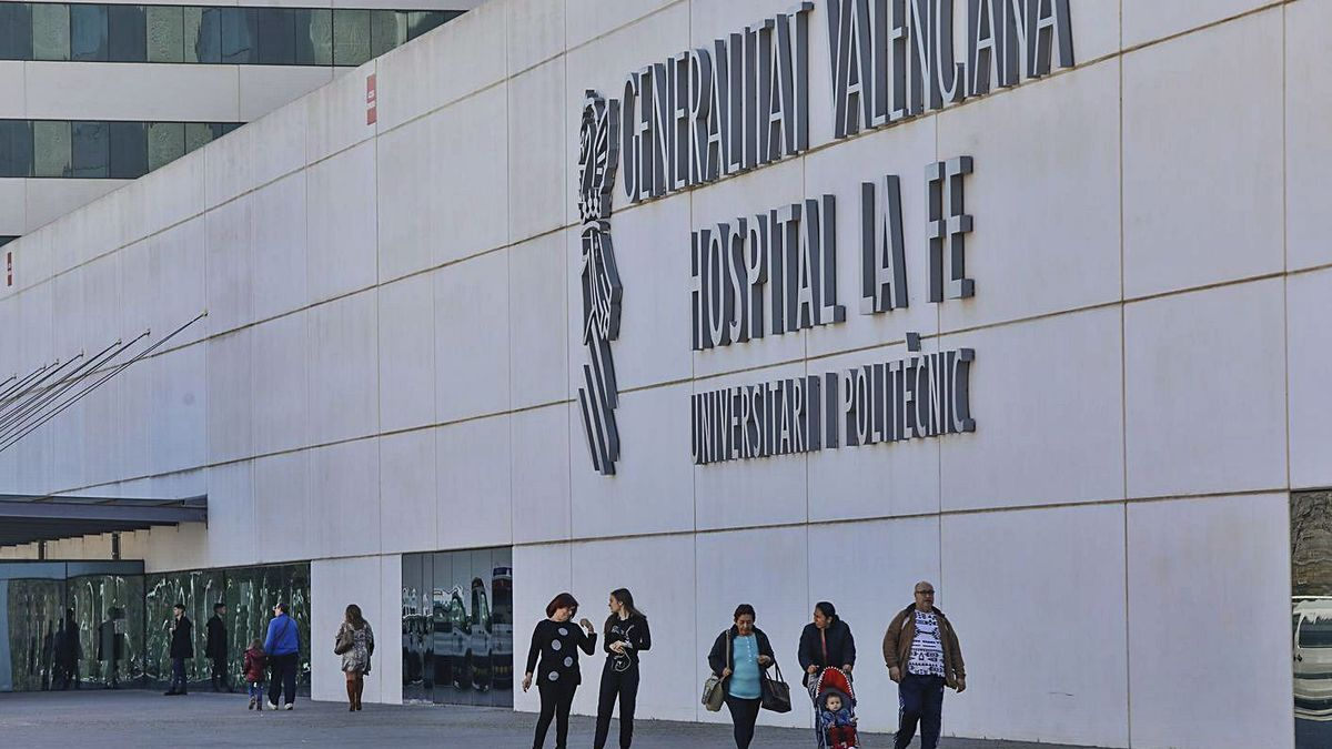 El Hospital La Fe cuenta con un protocolo de donación de órganos para pacientes  con ELA. | M.A.MONTESINOS