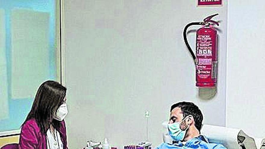 Los jóvenes empresarios de la Región se apuntan a la donación de sangre