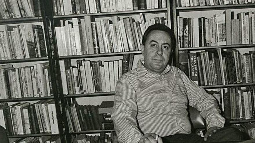 El escritor Claudio Rodríguez.