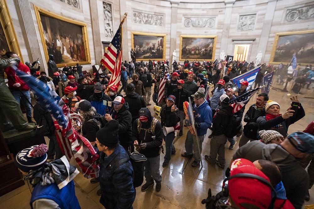 Imágenes del asalto al Capitolio por simpatizantes de Trump