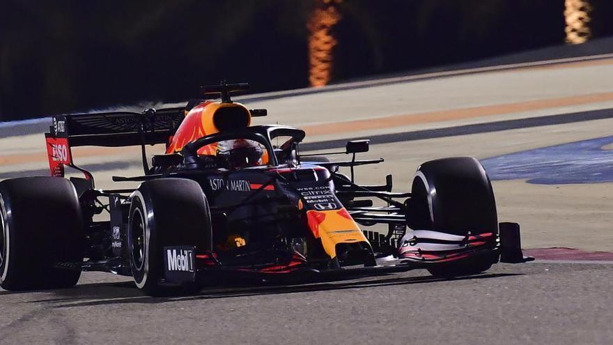 Verstappen fue el más rápido en el último libre en Sakhir