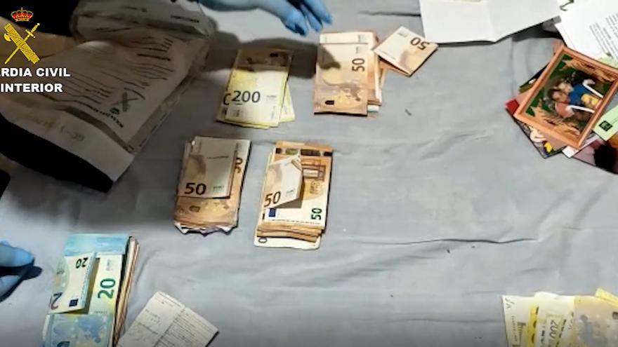 Operación Asgard Collar contra el narcotráfico de la Guardia Civil