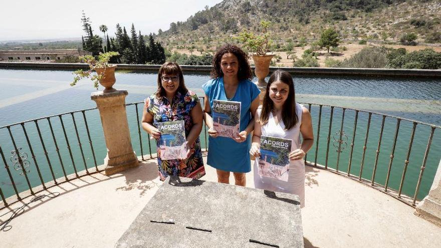 Drei Frauen an der Spitze des Inselrats von Mallorca