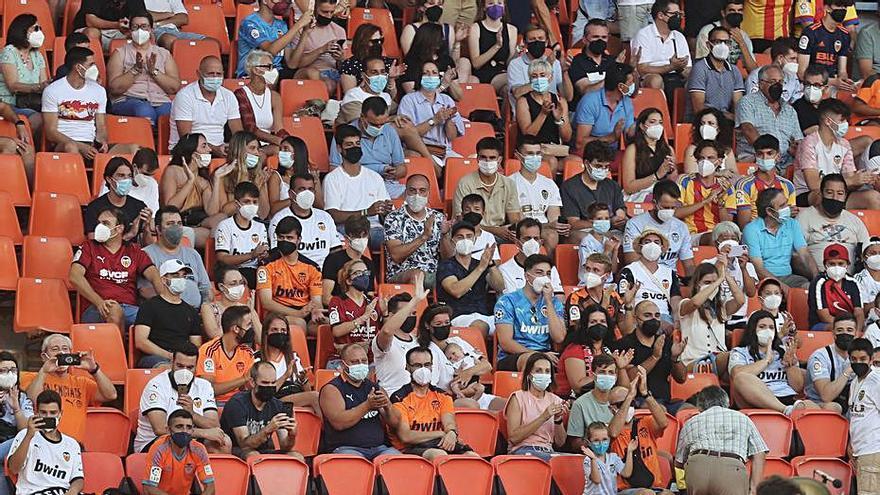 Máximo aforo de 15.000 en Mestalla