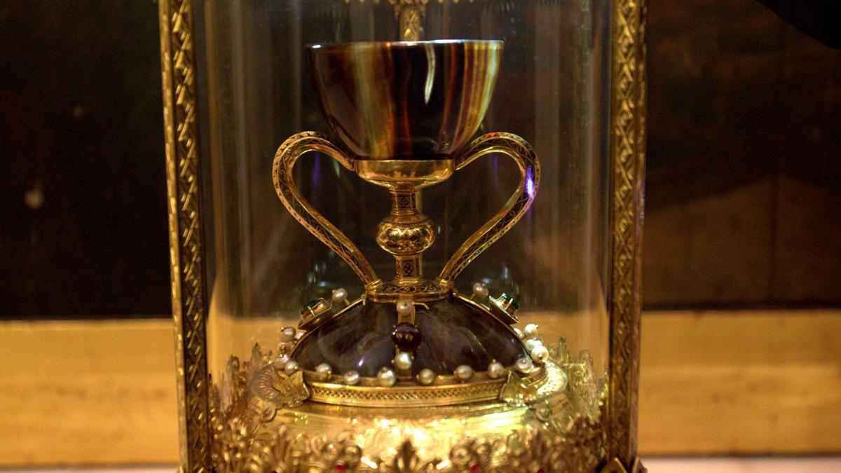 El Santo Cáliz en la catedral de València.