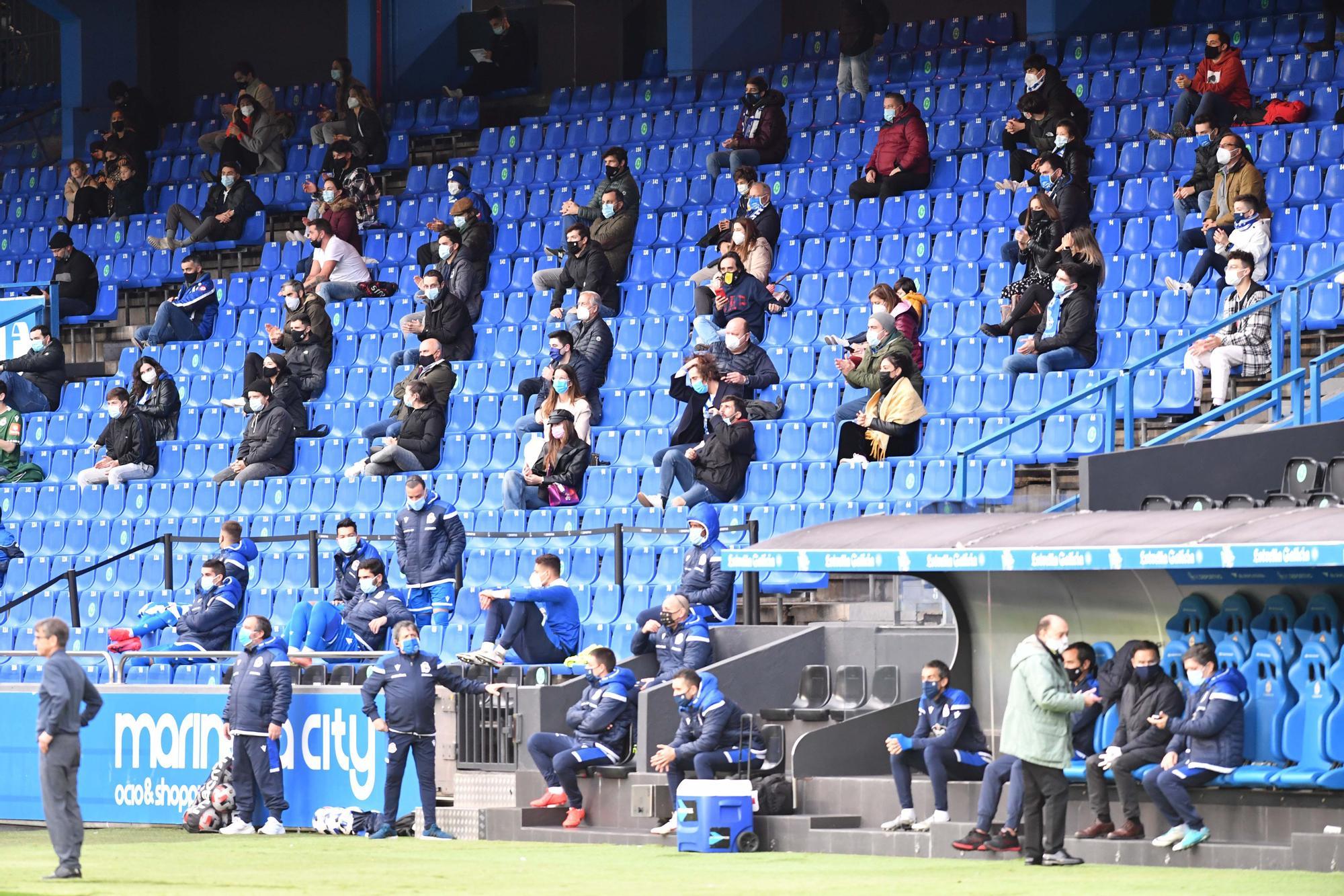 Mil espectadores para el Dépor-CeltaB