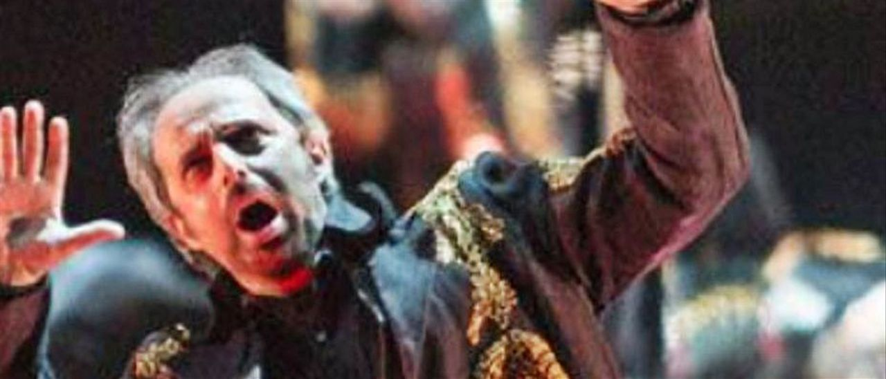 """Representación de """"Nabucco"""" en 2015 en el Campoamor."""