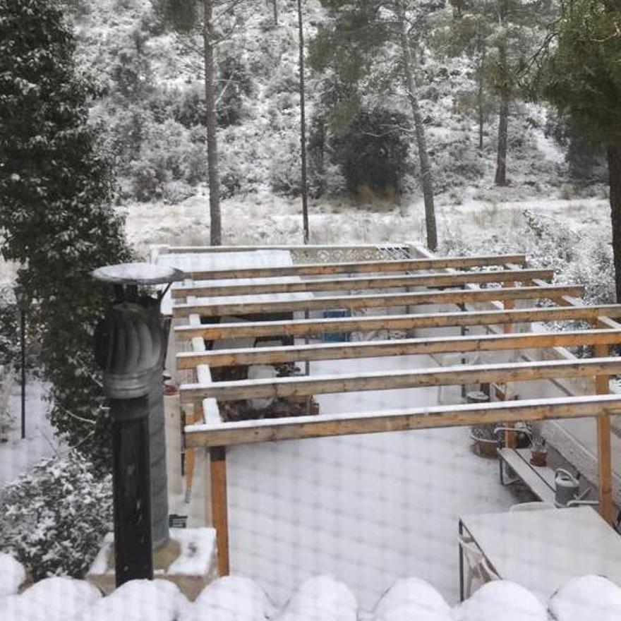 Nieve en Utiel, Casas de Medina