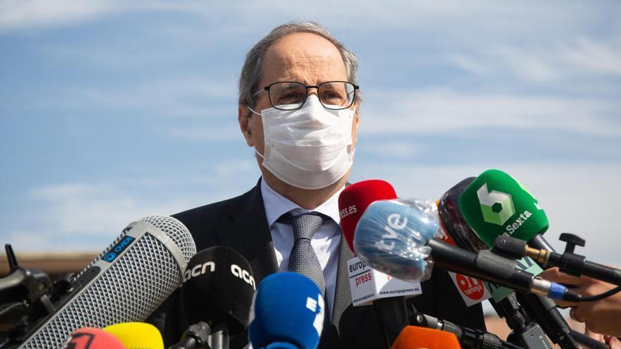 ¿Cuánto cobrará Torra como expresidente de la Generalitat?