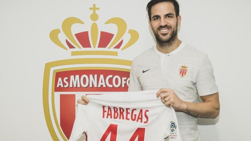 Cesc Fàbregas firma por el Mónaco de Henry