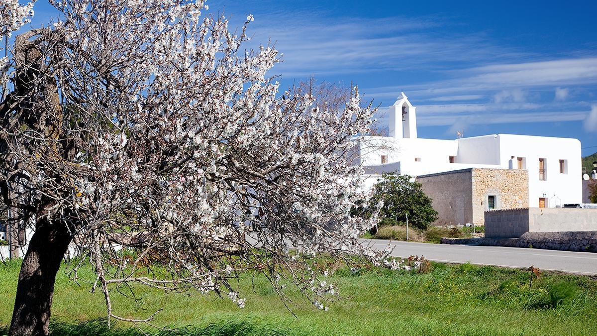 Santa Agnès, uno de los pueblos de interior de Sant Antoni.
