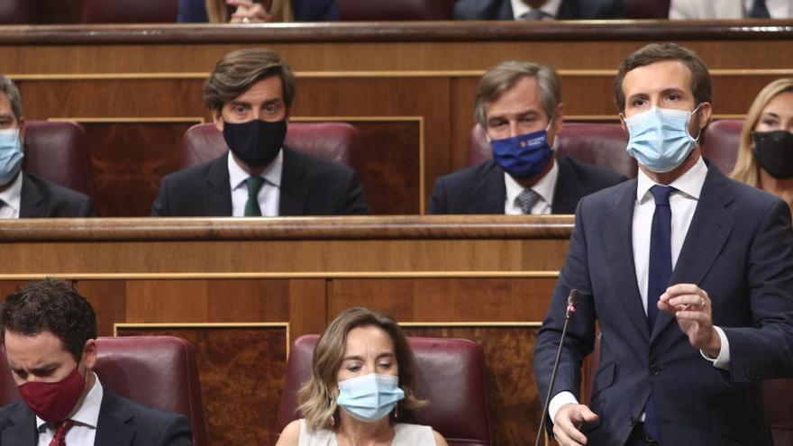 """Casado avisa: """"Las pensiones no se tocan"""""""