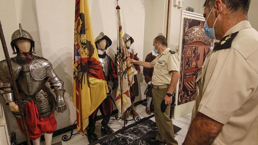 La Brigada X recrea en una exposición la Batalla de Lepanto