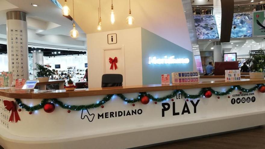 Decoración de Navidad del Centro Comercial Meridiano