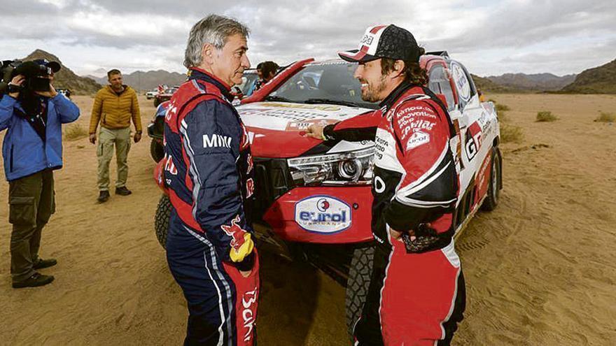 Campeones en la arena del Dakar