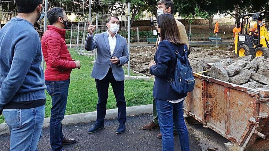 Servicios Públicos mejorará la zona de juegos del parque Don Quijote