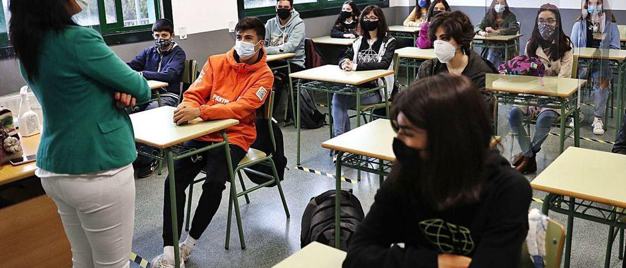Los Orientadores Escolares Detectan Casos De Ansiedad Ante La Idea De Otro Encierro Faro De Vigo