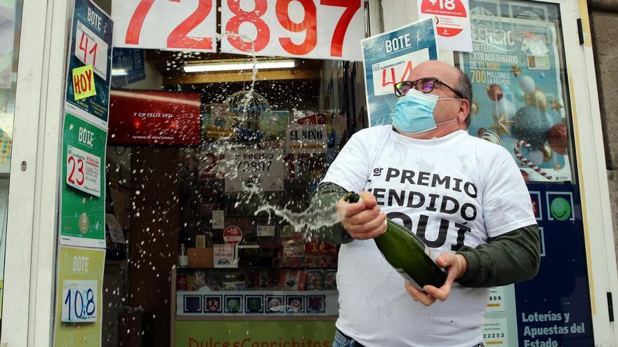 El Euromillones deja un premio de un millón de euros en Vigo