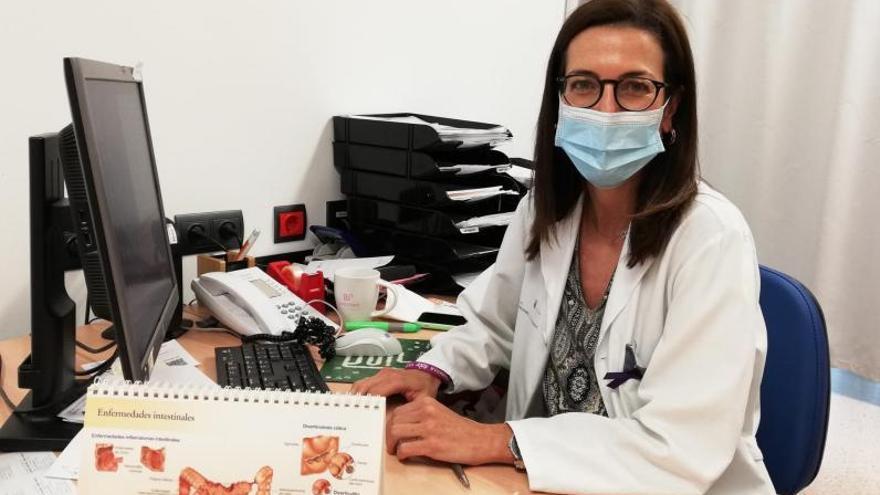 Marta Carillo, digestóloga del HUC