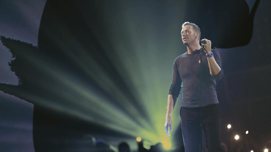 Coldplay mira por el caleidoscopio