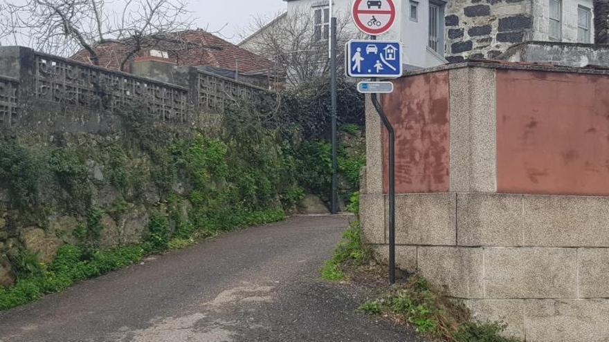Moaña cambia a sentido único las cuatro salidas a la PO-551 entre Vilela y A Pedreira