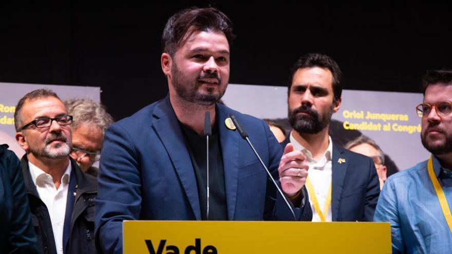 """ERC propone una """"gran alianza"""" por la amnistía y negociar un referéndum"""