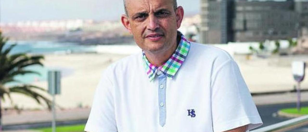 Víctor Alonso Falcón, consejero de Bienestar Social del Cabildo de Fuerteventura.