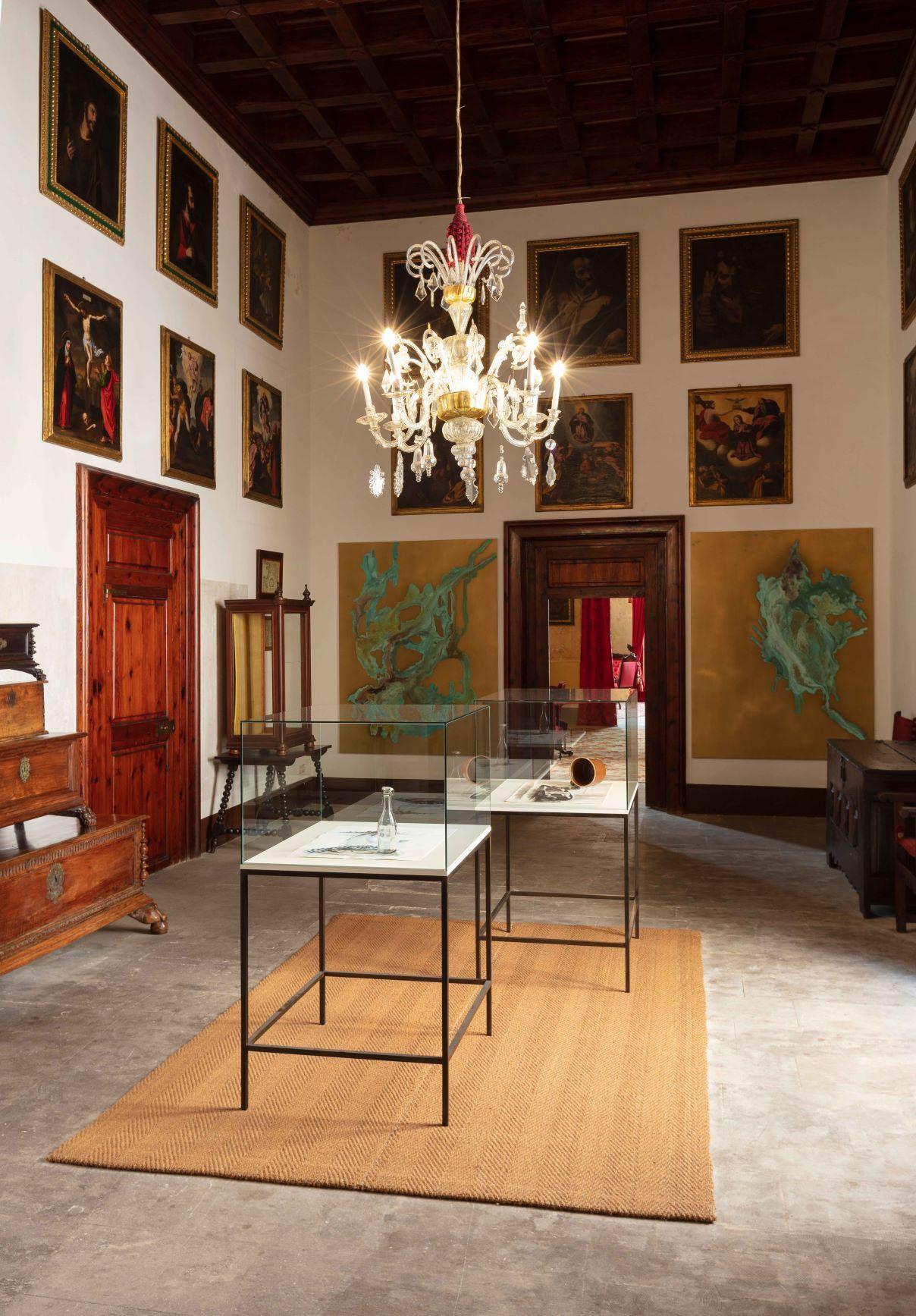 Kunstvoller Stadtpalast in Palma de Mallorca zu besichtigen