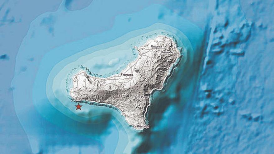 Seísmo de magnitud 2,5 al suroeste de El Pinar
