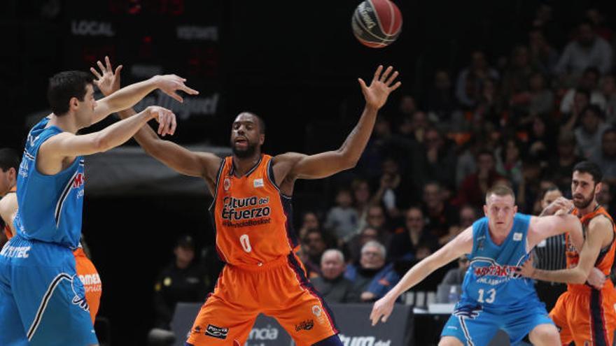 Cambio horario en los partidos del Valencia Basket