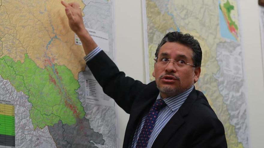 Cluber Fernando Aliaga, nuevo ministro de Interior en Perú