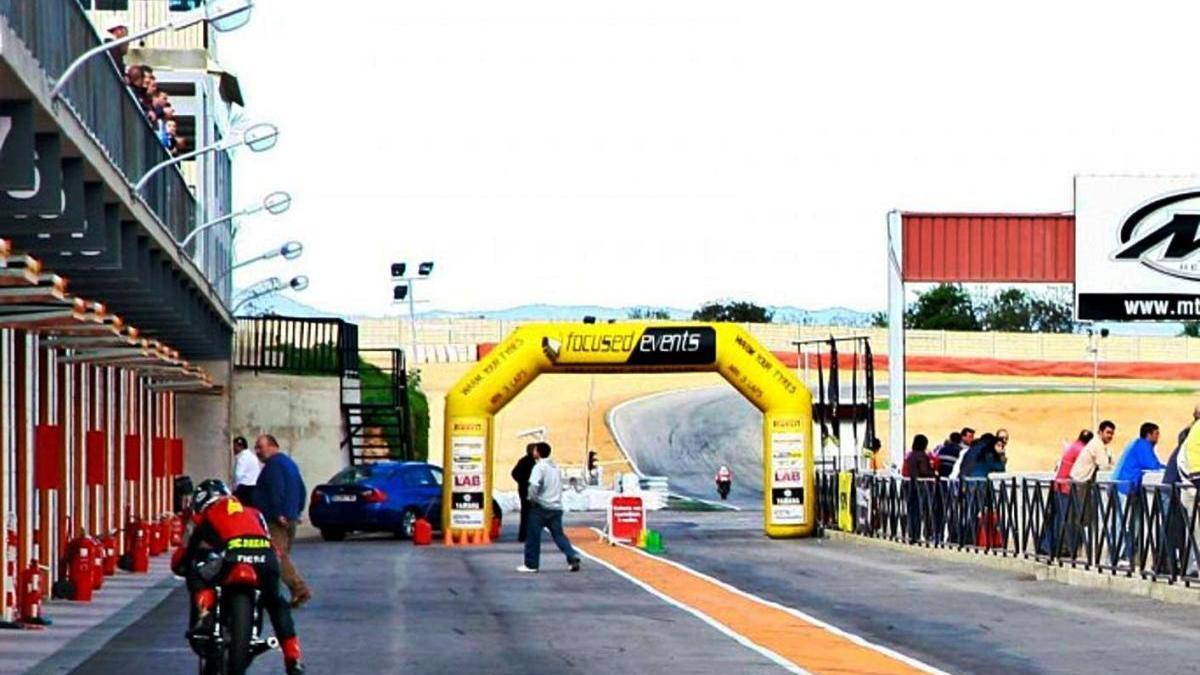 El Circuito Permanente de Velocidad de Cartagena.