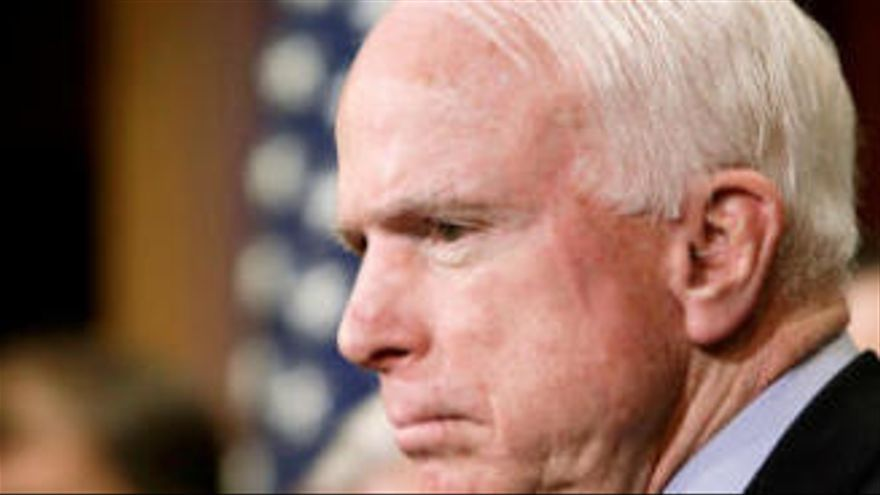Detecten un tumor cerebral al republicà John McCain