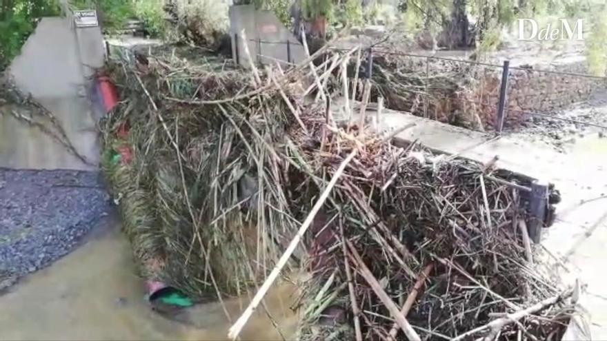 Sant Llorenç y s´Illot son áreas de riesgo de inundación