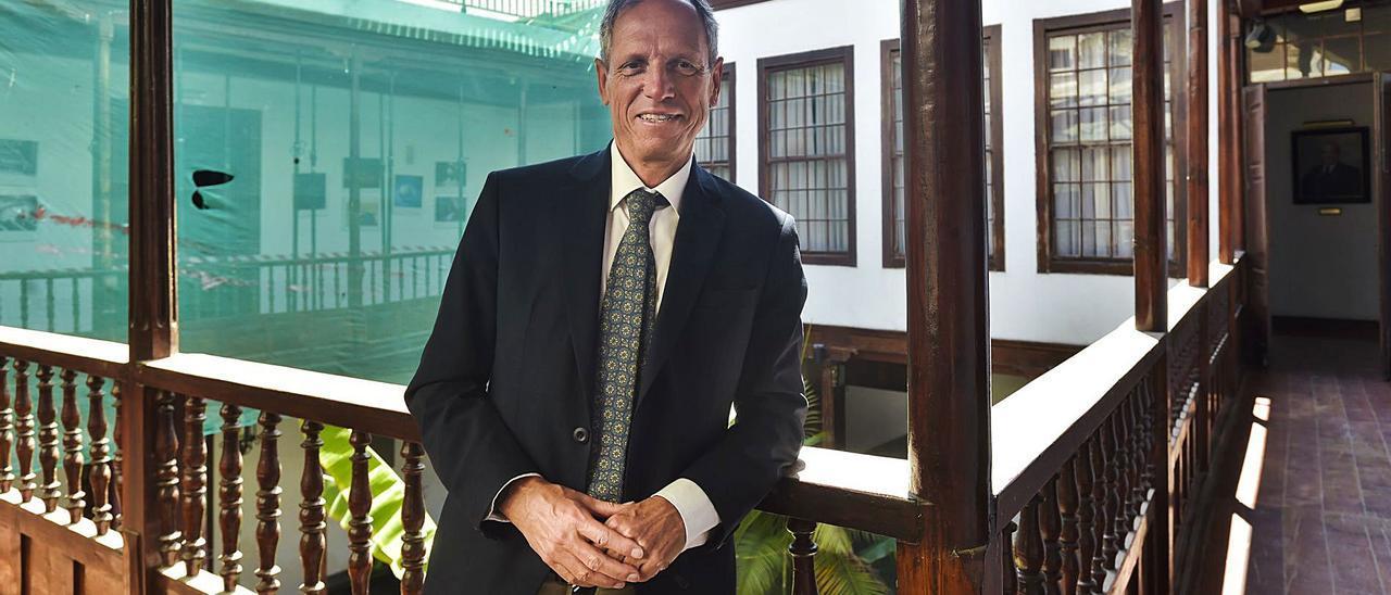 Rafael Massieu en el Colegio de Abogados de Las Palmas