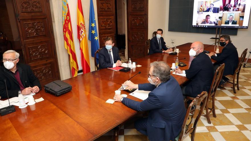 Puig anuncia un fondo de 160 millones en ayudas directas para la hostelería