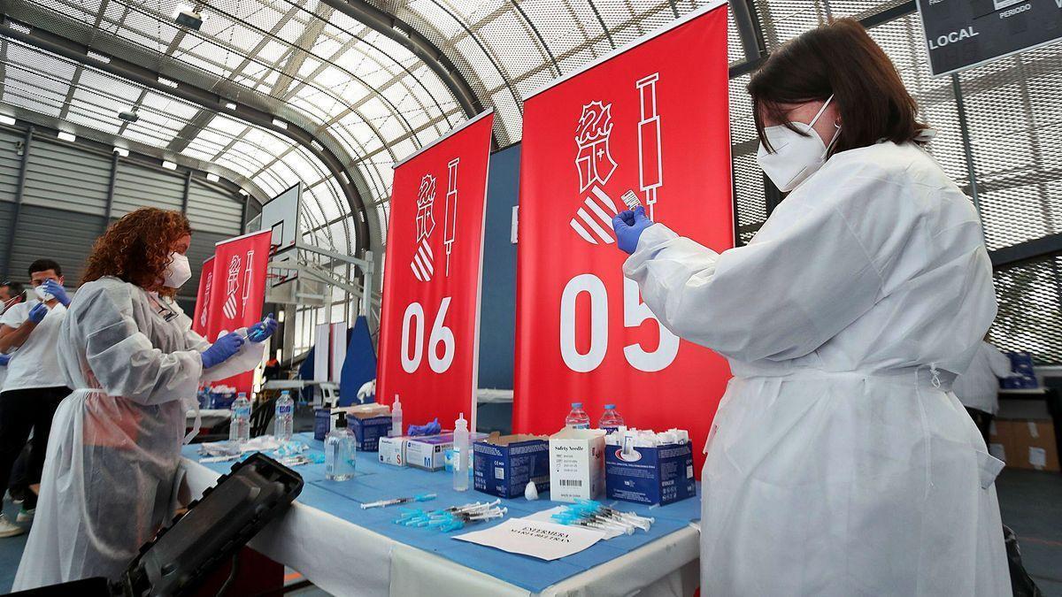 Cerca de 250.000 valencianos serán vacunados la próxima semana.