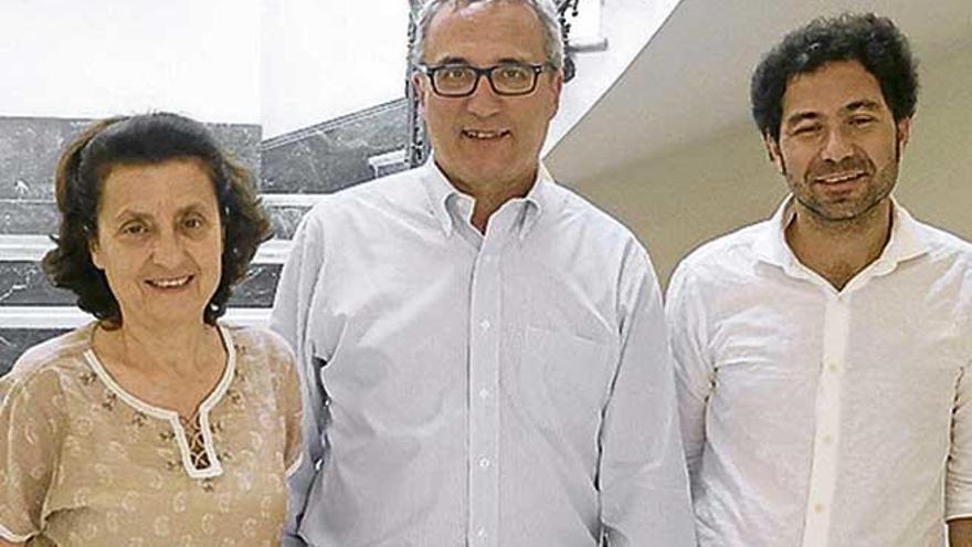 Santiago se reúne con el consejero de políticas migratorias de la Toscana